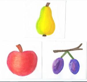 jablko,hruška,švestka