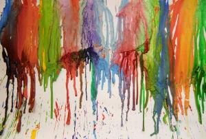 Stékající barvičky