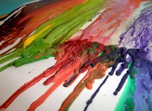 Stékající barvičky 3