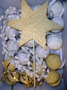 Vánoční ozdoby z papíru a vody (4)