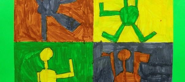 Deti V Pohybu Vytvarna Vychova