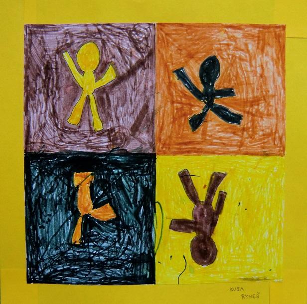cvičící děti5