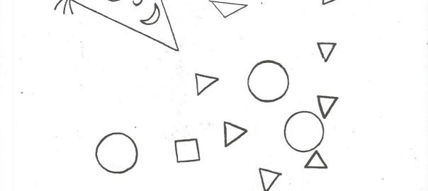Drak Geometricke Tvary Vytvarna Vychova