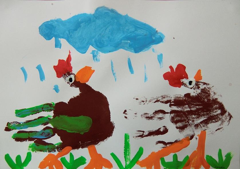 Slepičky a kuřátka2
