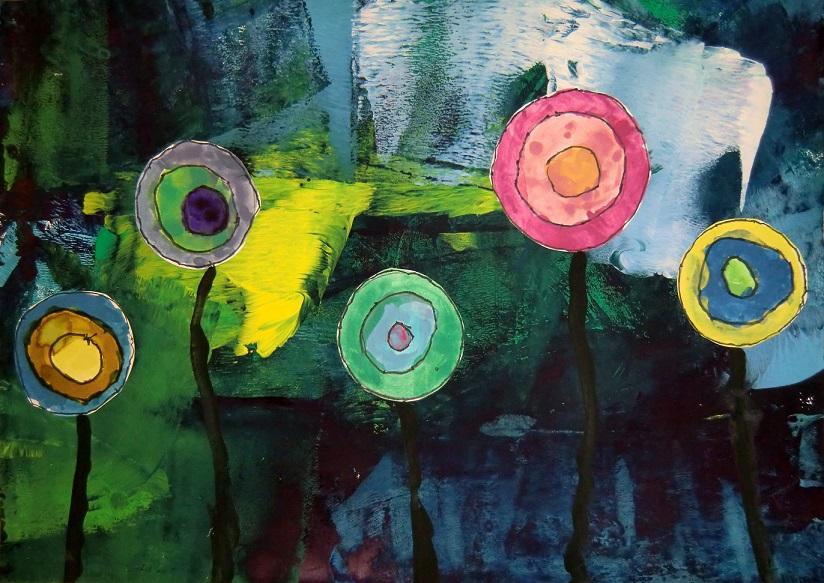 Hunderwasserovi květiny