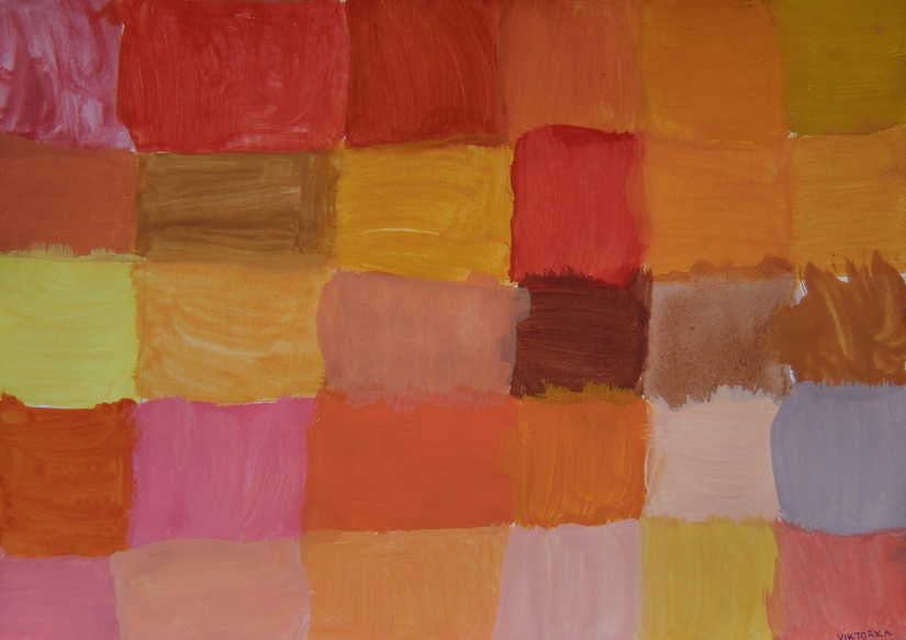 Barvy pro Karkulku,vlka a myslivce2
