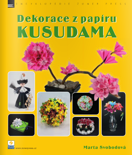 Dekorace z papíru-KUSUDAMA