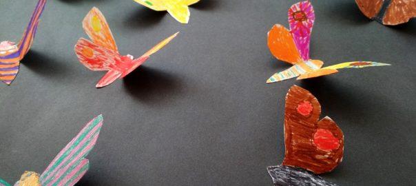 Barevna Krasa Motylich Kridel Vytvarna Vychova