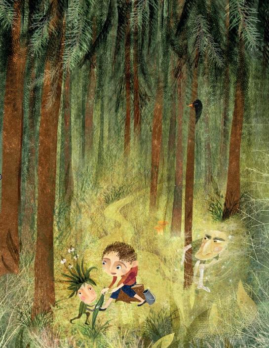 Jde sem lesem
