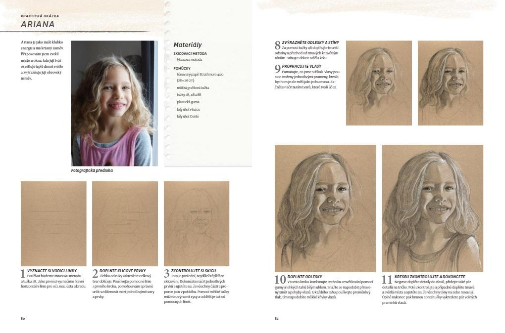 Realistické portréty tužkou