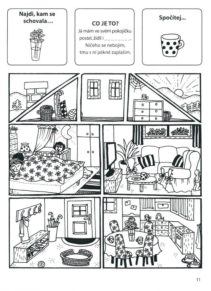 Pokoje v domě