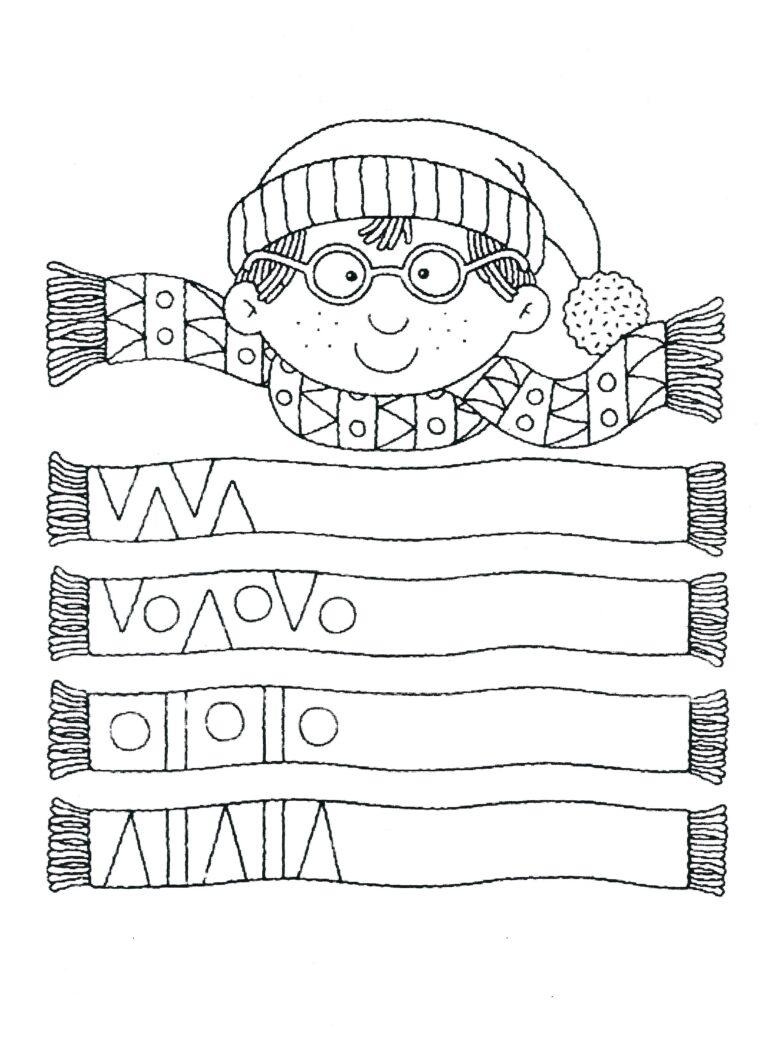 Vzorované šály
