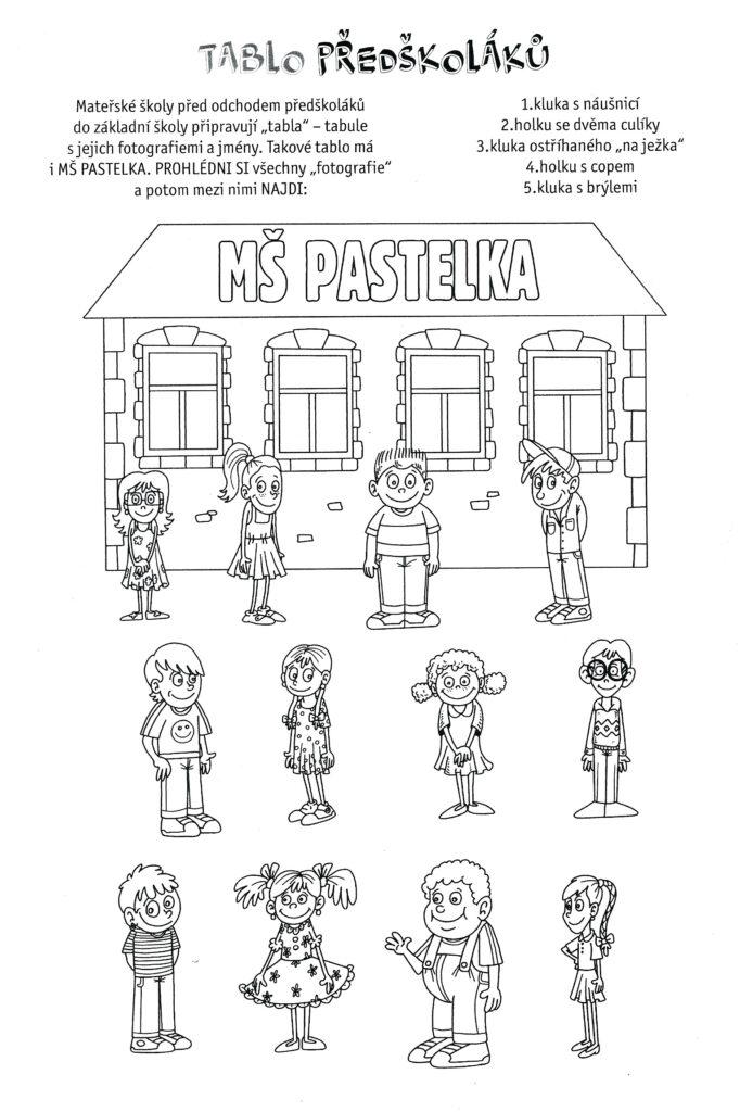 Tablo předškoláků